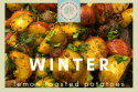 Winter Lemon Roasted Potatoes